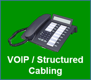 Phone Systems VOIP, Structured Cabling and Data Network Cabling